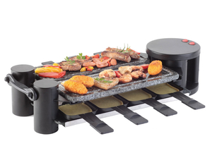 Ohmex Raclette Grill + Stone-Grill | Dodax.ch