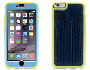 Griffin - Identity Performance Traction Case for iPhone 6/6s Plus, Navy/Yellow (GB40387) | Dodax.co.uk
