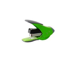 Rexel Easy Touch Low Force Quarter Strip Stapler Green | Dodax.com