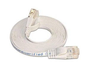 Wirewin Slim Patchkabel: UTP, 0.10m, weiss | Dodax.at
