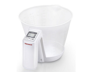 Soehnle - Baking Star Kitchen Scale up to 3 kg, 1.5 L, Transparent/White (66221) | Dodax.ch