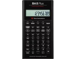 Texas-Instruments BAII Plus PROFESSIONAL | Dodax.ch