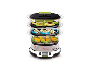 Tefal - Dampfgarer Vitacuisine Compact 1800 W 10,3L (VS4003) | Dodax.ch