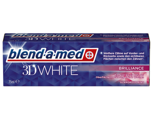 blend-a-med Zahnpaste 3D White Brilliance | Dodax.at