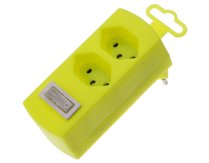Max Hauri AG - Power Extension, Yellow ( 122202) | Dodax.ch