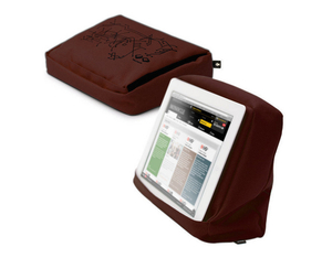 Bosign Tablet Pillow Hitech 2 braun-schwa | Dodax.at