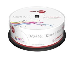Primeon DVD-R 25er Spindel | Dodax.at