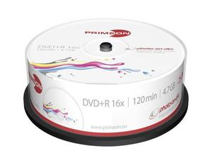 Primeon DVD+R 4.7GB 25er Spindel | Dodax.at