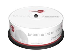 Primeon DVD+R 8.5GB Double Layer 25er Sp | Dodax.ch
