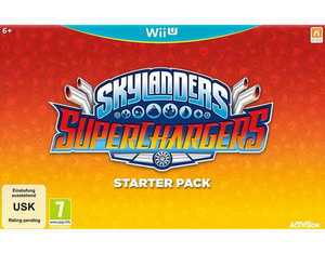 Skylanders Superchargers Starter Pack with Two Skylanders Collectible Figures, One Vehicle and Portal of Power; German Edition - Wii U | Dodax.nl