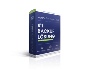 Acronis True Image Cloud 2016 für 3 PCs + 10 Geräte, DVD-ROM | Dodax.at