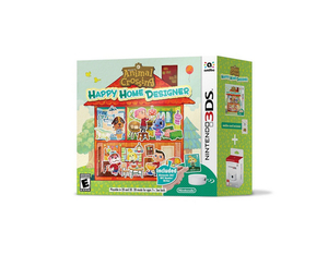 3DS Animal Crossing, Happy Home Designer, 1 Nintendo 3DS-Spiel + NFC Reader/Writer | Dodax.nl