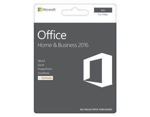 Microsoft - Office Home&Business 2016 (MAC) | Dodax.ch