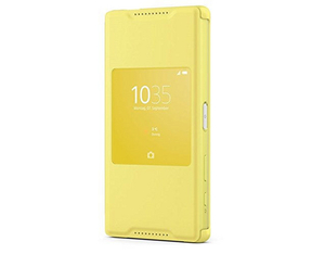 Sony SCR42 Style Cover Window Yellow | Dodax.at