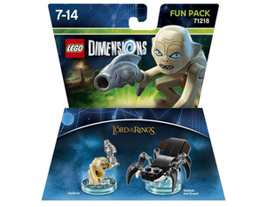 Warner Bros - Lego Dimensions Fun Pack Lord of the Rings Gollum (W3X04871636) | Dodax.at