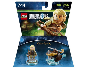 Warner Bros - Lego Dimensions Fun Pack Lord Of The Rings Legolas (W3X04871637) | Dodax.pl