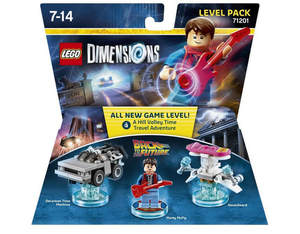 LEGO Dimensions, Level Pack, Back to the Future, 3 Figuren | Dodax.fr