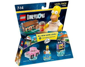 LEGO Dimensions, Level Pack,  The Simpsons, 3 Spielfiguren | Dodax.ch