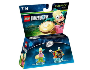 Warner Bros - Lego Dimensions Fun Pack The Simpsons Krusty (W3X04872102) | Dodax.ch