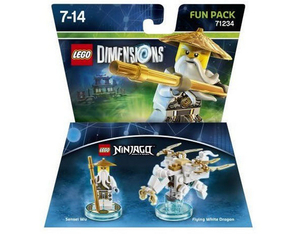 Warner Bros - Lego Dimensions Fun Pack Ninjago Sensei Wu (W3X04871909) | Dodax.at