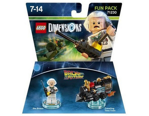 Warner Bros - Lego Dimensions Fun Pack Back to the Future Doc Brown (W3X04871911) | Dodax.ca