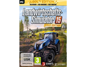 Landwirtschafts-Simulator 15, 1 DVD-ROM (Gold-Edition) | Dodax.fr