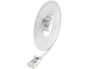Wirewin Slim Patchkabel: UTP, 7.5m, weiss | Dodax.de