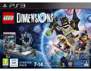 LEGO® Dimensions, Starter-Pack, 1 PS3-Blu-ray Disc + Spielfiguren | Dodax.es