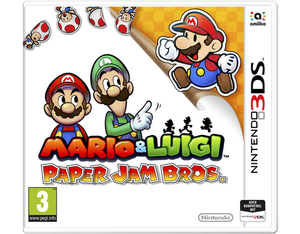 Mario & Luigi: Paper Jam Bros. German Edition - 3DS | Dodax.at