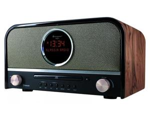 Soundmaster - Retro CD Radio, Brown (NR850) | Dodax.ch