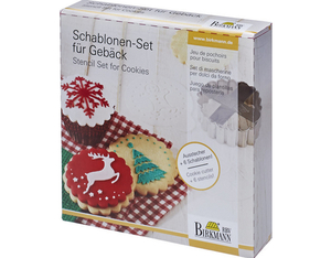 RBV Birkmann Schablonen Set Merry Christmas | Dodax.co.uk