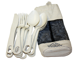 EcoSouLife Cutlery Cluster Sand | Dodax.at