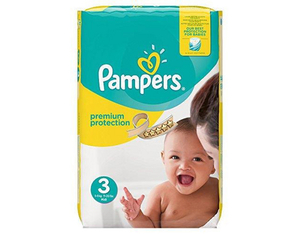 Pampers Premium Protection Gr. 3 Midi | Dodax.ch