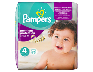 Pampers Active Fit 4 Spar | Dodax.at