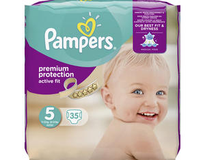 Pampers Active Fit 5 Spar | Dodax.at