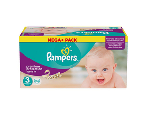 Pampers Active Fit 3 plus pack | Dodax.ch
