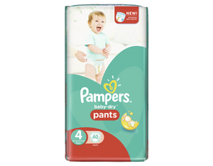 Pampers Baby Dry Pants 4 Spar | Dodax.at