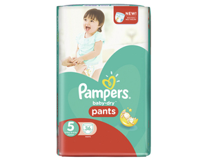 Pampers Baby Dry Pants 5 Spar | Dodax.at