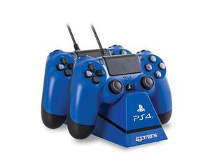 PS4 Dual Charge'n'Stand blue | Dodax.at