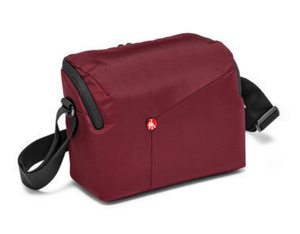 Manfrotto NX Shoulder Bag DSLR bordeaux | Dodax.ch