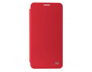 XQISIT Flap Cover Adour red | Dodax.ch