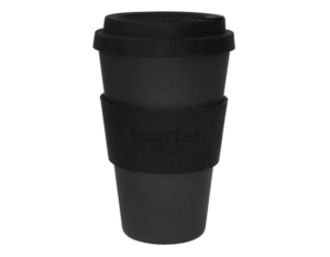 Ecoffee cup Kaffeebecher Blackout | Dodax.de