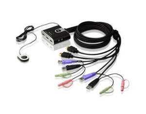 Aten CS692: HDMI KVM Switch, 2Port, Audio | Dodax.at