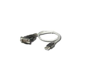 Manhattan USB to Serial RS-232 USB A Grey cable interface/gender adapter | Dodax.com