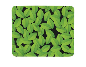 Trust Eco-friendly Mouse Pad green leaves | Dodax.ch
