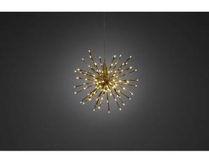 Lichterball Stern, Messing, 120 LED, Outd. | Dodax.ch