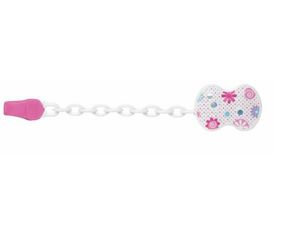 Chicco CLIP CLAP Clip mit Kette, pink | Dodax.ch