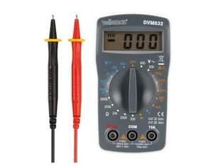 Velleman DVM832 Multimeter 10A  500V | Dodax.at