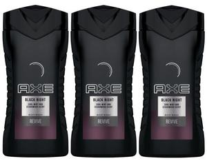 AXE Duschgel Black Night 250 ml TRIO | Dodax.at