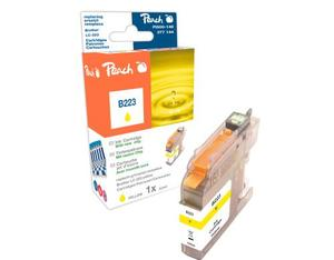 Peach Tinte Brother LC-223y yellow | Dodax.de